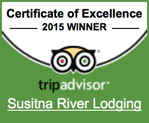 TripAdvisor 2015 Talkeetna Lodging Award